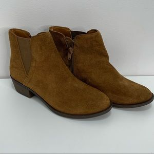 Kenzie Brown Leather Bootie